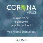 Informe do CON em relação à pandemia pelo novo coronavírus (COVID-19) 14-03-2020
